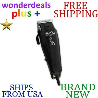 New WAHL Pet Clipper Adjustable Heavy Duty Snag-free Blades HAIR FUR CUTTING KIT
