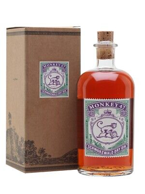 1st Batch 2018 Limited Edition Monkey 47 Gin Barrel Cut Mulberry Maulbeere 47%