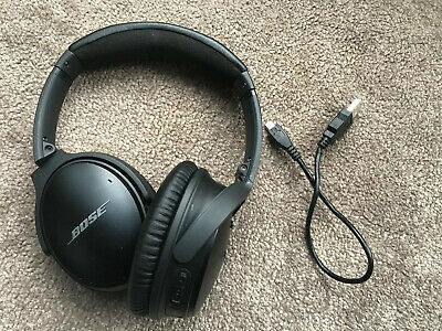 Bose Quiet Comfort QC35 Headphones Noise Cancelling Wireless Black