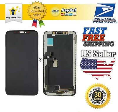 For iPhone X XS XR XS Max 11 OLED LCD Display Touch Screen Digitizer Replacement
