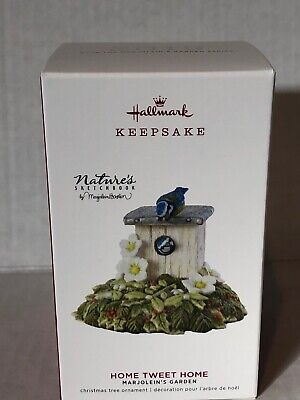 Hallmark Keepsake 2019 Ornament Bastin Marjoleins Garden Home Tweet Home Bird