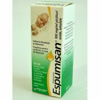 Espumisan 100mg - 30ml Baby Anti Colic Drops-Bloating Stomach Aches,Colic,