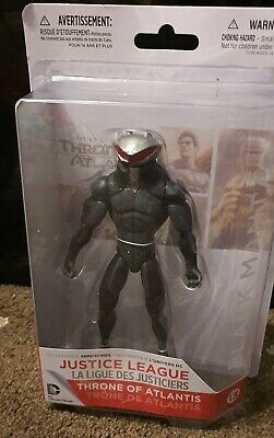 Dc Collectibles Justice League Black Manta Figure Throne Of Atlantis *New(Other)