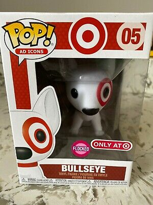 Funko Pop Ad Icons Bullseye Flocked #05 Target Exclusive