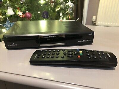 Humax FOXSAT HD/GB FreeSat Satellite TV Receiver with Remote - GOOD CONDITION