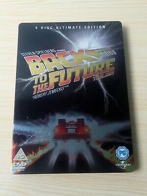 Back To The Future Trilogy: 4 Disc Ultimate Edition (Metal Case) (DVD)