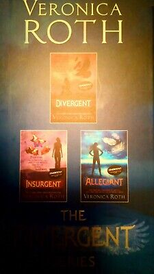 Divergent Series Boxed Set (books 1-3) by Veronica Roth (Paperback, 2014)