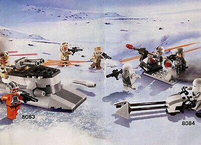 LEGO Star Wars Rebel Trooper und Snowtrooper Battle Pack (8083, 8084)