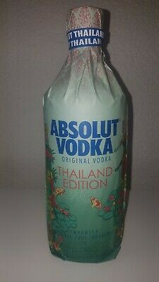 Absolut Vodka Thailand Wrap V2 Limited Edition Top!!! Traveler's Exclusive