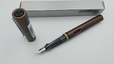 Lamy Füller al star Special edition von 2010 / coffee brown , Neu
