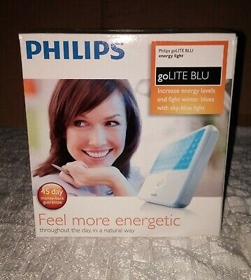 Philips goLITE BLU Energy Light HF3321 New