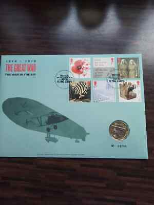 2017 Royal Mint Aviation UK £2 Two Pound Brilliant Uncirculated Royal Mail PNC