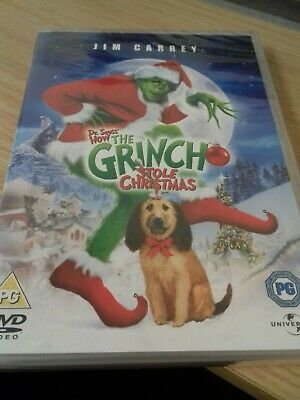 The Grinch - Uk Dvd Jim Carrey New & Sealed !