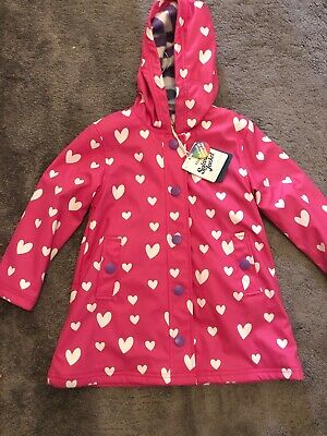 Hatley Colour Changing Unicorn Raincoat Age 5 Years  BNWT
