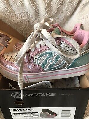 Genuine Heelys - Girls Size UK 2 - Boxed -
