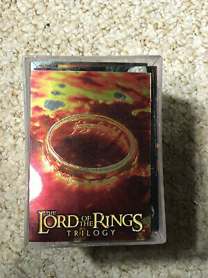 Lord Of The Rings Trilogy Trading Card Base Set (Topps Chrome, 2004)
