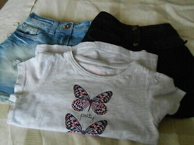 2 Girls Skirts And Top Age 6-7