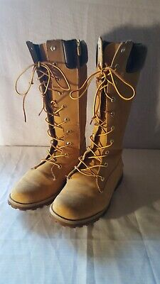 Timberland Trail Knee High Tall Wheat Boots Juniors/Womens/Girls size 7