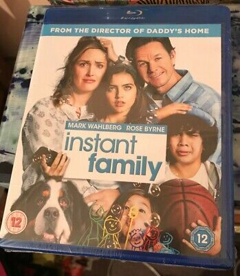 Instant Family blu ray BRAND NEW SEALED