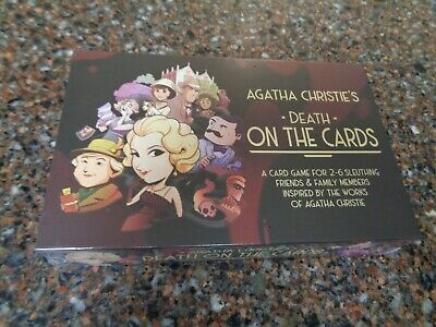 Agatha Christie Death on the Cards Strategy Mystery Game 5060523341887 Sealed