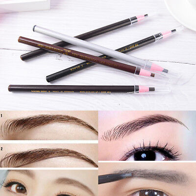 Waterproof Stereotypes Pencil Permanent Makeup Eyebrow Pencil Cosmetics Tool_FR