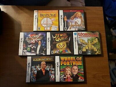 Individual Nintendo DS Games (not a lot)