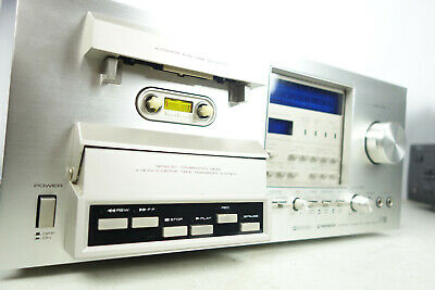 Vintage Pioneer CT-F900 Audiophile Cassette Deck - Tested & Working - Clean