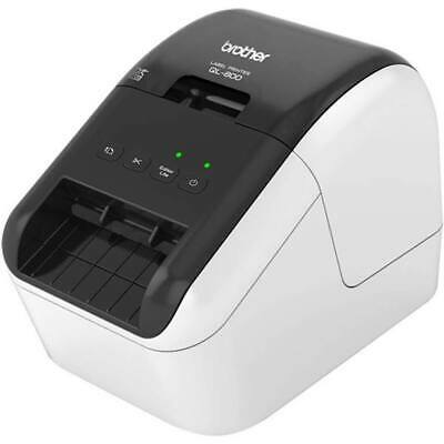 Brother QL-800 High-Speed Professional Label Printer Black/Red Print up to 62mm