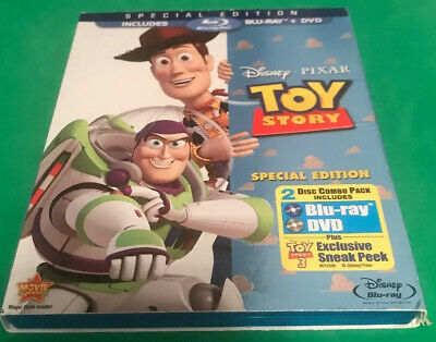 Toy Story (Blu-ray/DVD, 2010, 2-Disc Set, Special Edition)