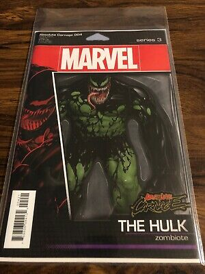 Absolute Carnage 4 Action Figure Variant Cover NM