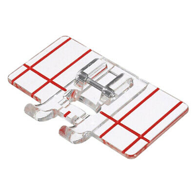 Universal Border Guide Sewing Machine Presser Foot For Singer, Brother, Janome