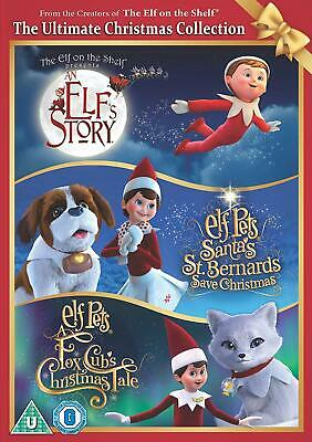 The Elf On The Shelf DVD The Ultimate Christmas Collection Multicoloured English