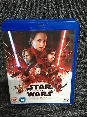Star Wars - The Last Jedi [Blu-ray] [2017] mint, 2 Discs. Freepost In Uk