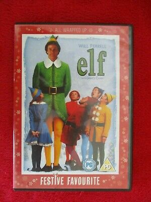 Elf Christmas DVD with Will Ferrell