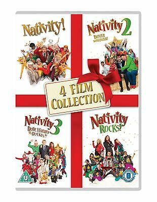 4 Film Collection DVD Nativity Format PAL Language English Universal Pictures UK