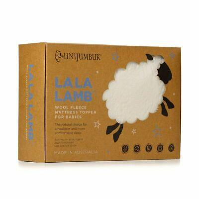 MiniJumbuk La La Lamb Cot Mattress Topper for Babies