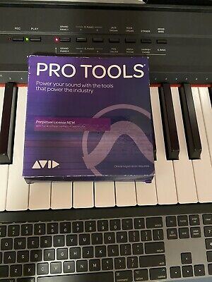Avid Pro Tools 12  Perpetual License with Annual Upgrade (Card) USED