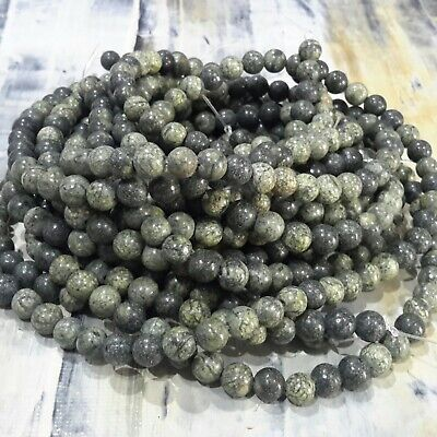Oz Seller 65pce Silver Free postage Natural Lava Electroplated Bumpy  6mm