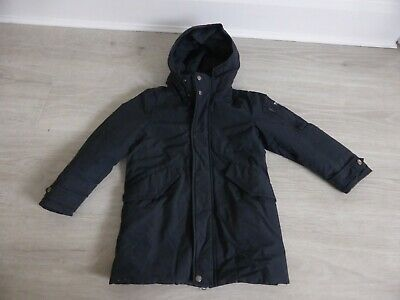 Woolrich Kids Navy Coat With Thermal Insulation  Age 6 Years In Good Condition
