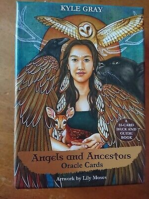Angels & Ancestors Oracle Deck Cards By Kyle Gray