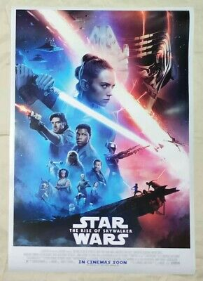 Star Wars Rise of Sky walker DS Movie Poster Double Sided 27x40  Final Intl