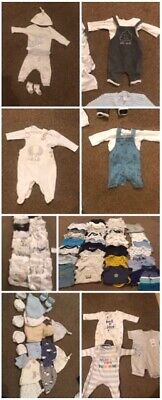 Newborn baby boy clothes bundle - NEXT, Mothercare, Matalan, M&S, Ted Baker, F&F