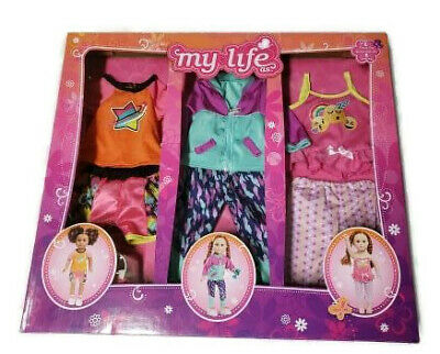 My Life As Training 8 Pieces Set 18 Inch Doll Clothes Clothing