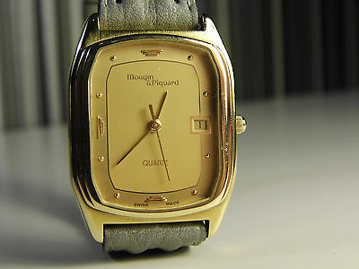 Mougin & Piquard Very Rare Swiss Made 10 Micron G/Plated 7 Jewel Ladies Watch