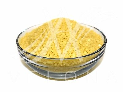 2oz 100% YELLOW BEESWAX BEES WAX PURE PREMIUM PASTILLES BEARDS Cosmetic Filtered