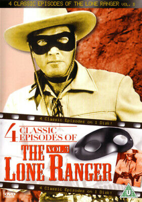 The Lone Ranger: 4 Classic Episodes - Volume 3 DVD (2013) Clayton Moore cert U