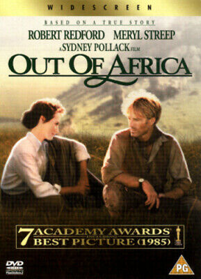Out of Africa DVD (2002) Meryl Streep, Pollack (DIR) cert PG Fast and FREE P & P