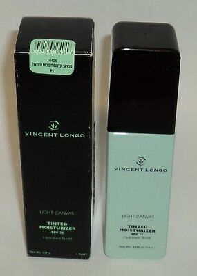 VINCENT LONGO Light Canvas Tinted Moisturizer SPF 25 #4 New In Box