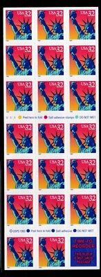 ALLY'S STAMPS Scott #3122a 32c Statue of Liberty [20] MNH [BP-2b]