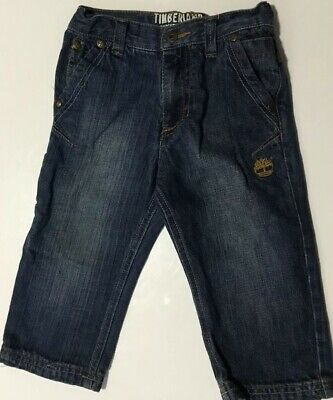 Timberland Boys 24M Blue Jeans Adjustable Waist